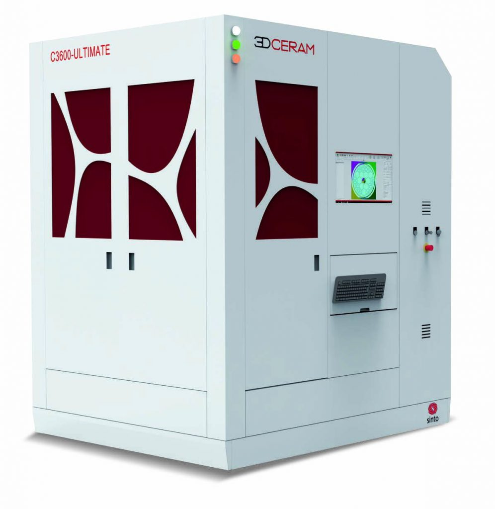 3DCeram's new ceramic 3D printer