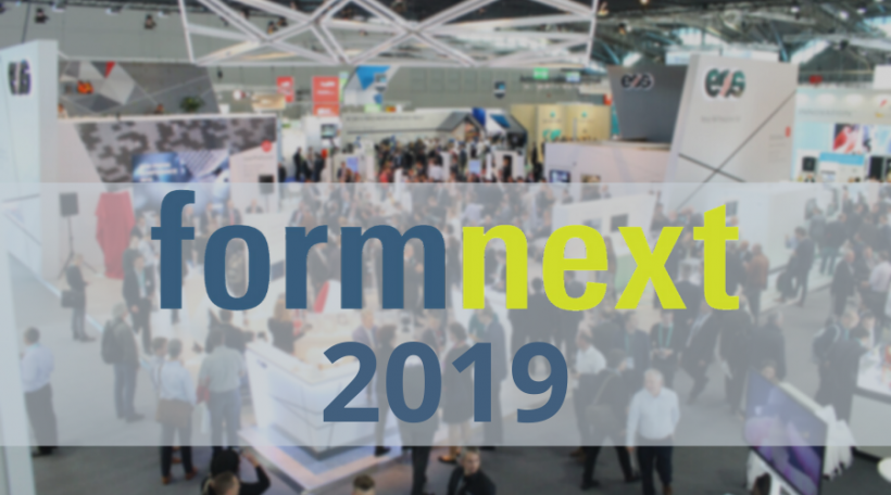 10 Technologies to Watch Out for at Formnext 2019