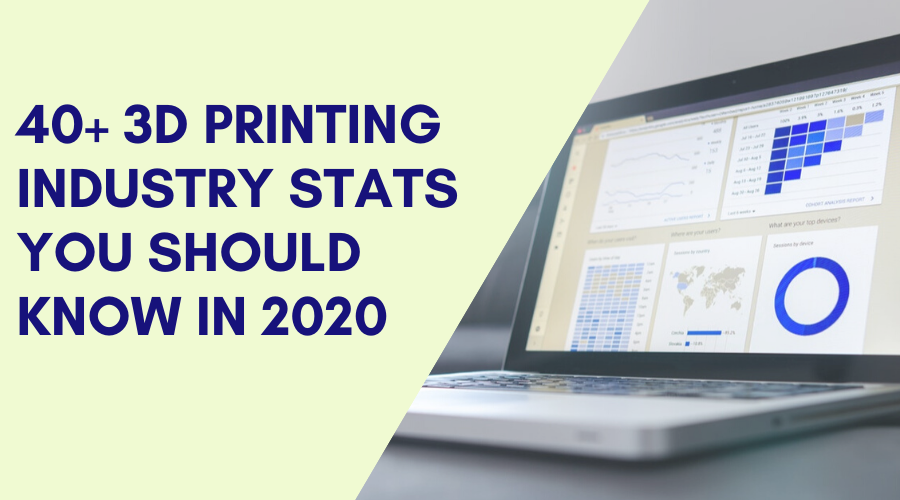 40+ 3D Printing Industry Stats You Should Know [2020]
