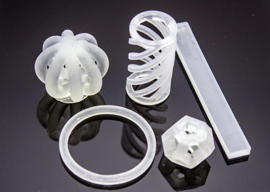 silicone 3d printing applications High